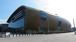Wisconsin Entertainment and Sports Center - Northeast view.jpg