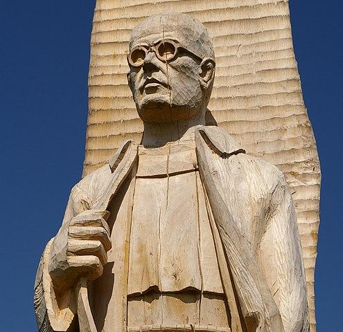 Statue of Maximilian Kolbe