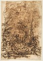 Witches' Sabbath (recto); Figures Gathered around a tree (verso) MET DP812352.jpg