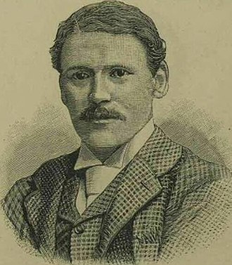 William Barnes Wollen - Wollen pictured in the Illustrated London News in 1892