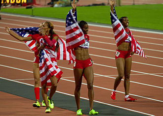 Athletics at the 2012 Summer Olympics – Women's 4 × 400 metres relay - Gold medal winners