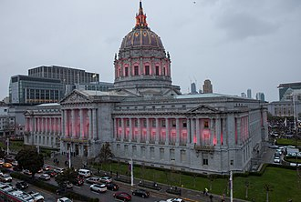 Members of the San Francisco Board of Supervisors - The Board of Supervisors meets in San Francisco City Hall.