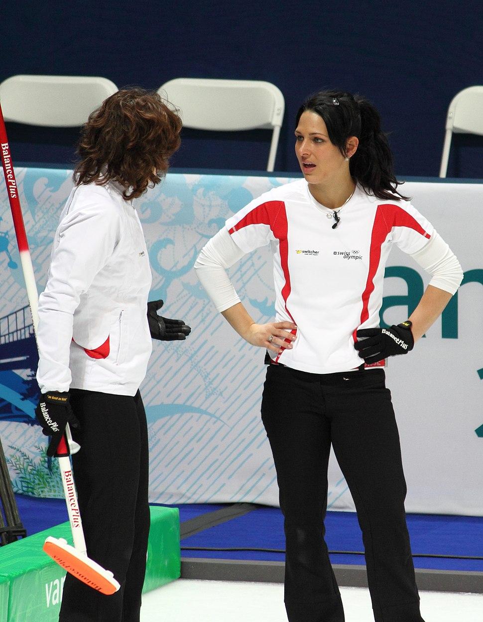 Womens Curling Team Switzerland