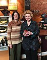 Wonderful visit with Lorna at Uptown Coffee in Howell, Foursquare's choice for best place to grab a coffee with friends in Michigan! (39749061671).jpg