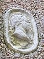 Wonsees, Felsengarten Sanspareil, Ruinentheater, Relief.jpg