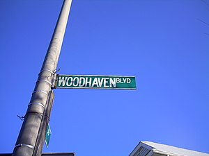 Woodhaven and Cross Bay Boulevards