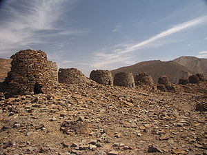 Nawamis - Nawamis tombs were found in the areas of Bat, al-khutm and al-Ayn in Sultanate of Oman