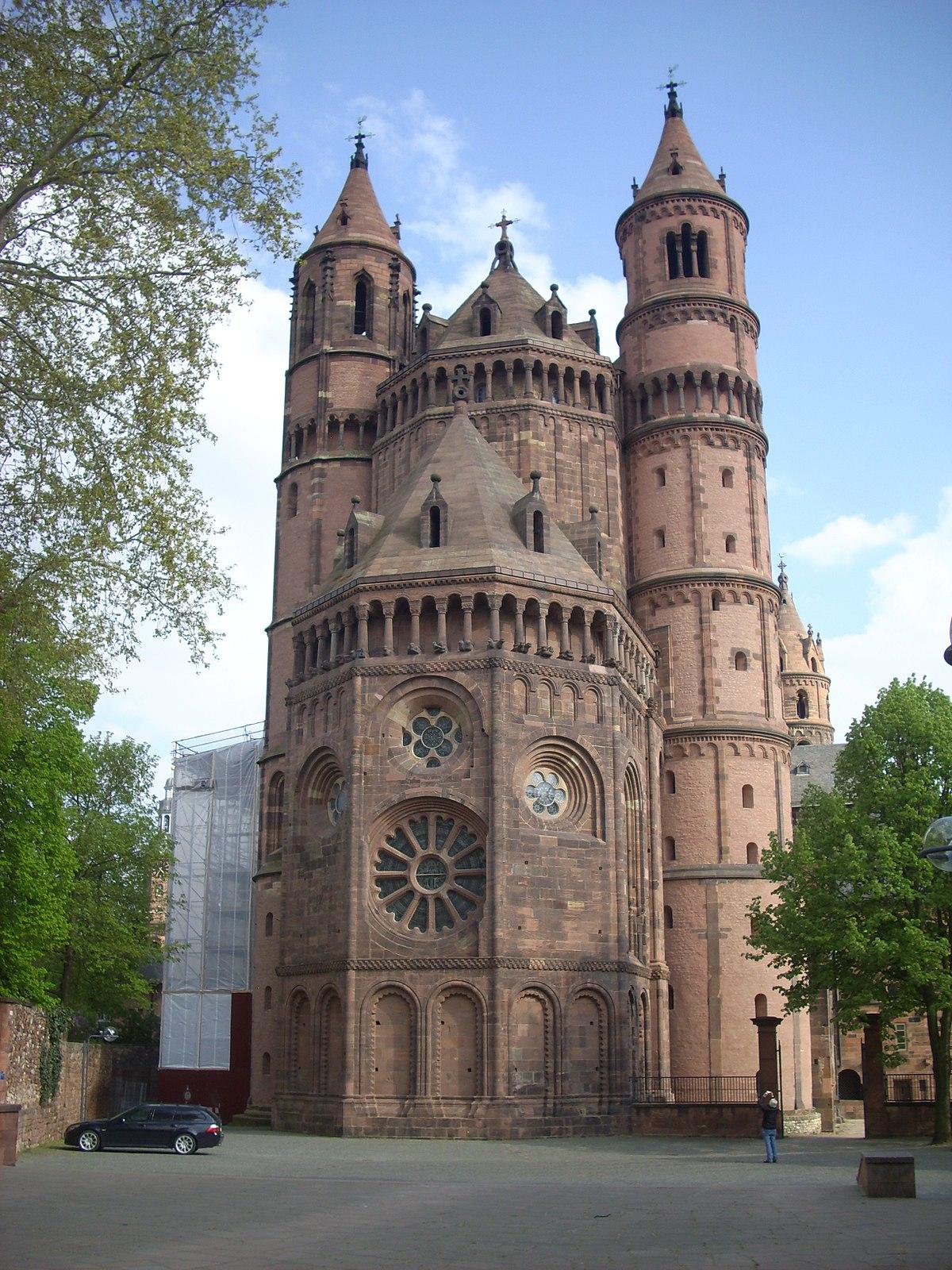 Catedral de worms wikipedia la enciclopedia libre for Architektur romantik