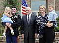 Wounded Warrior Inspires Gates, Accepts Key to New Home DVIDS200311.jpg