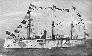 USS Bancroft (1892) - Image: Wrau uss bancroft