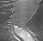 Wright Glacier, terminus of valley glacier, August 27, 1968 (GLACIERS 6334).jpg