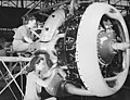 Wright R-2600 engine for A-31 bomber at Vultee Nashville 1943.jpg