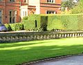 Wroxall Abbey Forecourt wall.JPG