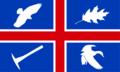 Wroxton village flag.png