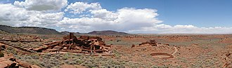 Wupatki National Monument - Image: Wupatki Panorama