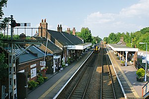 Wymondham railway station - Image: Wymondham station (6385179829)