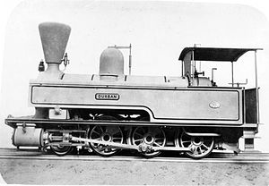1877 in South Africa - NGR 2-6-0T Durban