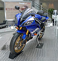 YAMAHA YZF-R6 2010 left-front Yamaha Communication Plaza.jpg