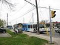 YRT Bus ^99 on Yonge at Steeles - panoramio.jpg