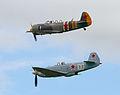 Yak 3M and Yak 11 (7576590594).jpg