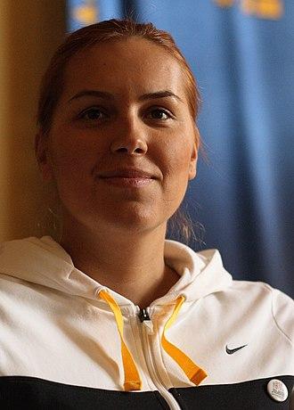 Sport in Ukraine - Swimmer Yana Klochkova holds a record of 4 gold medals