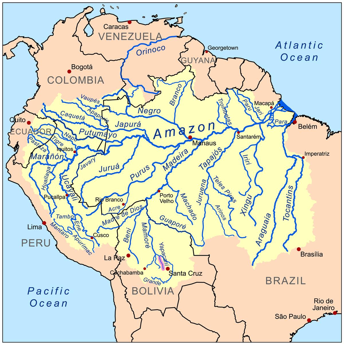 Rio Yapacani Wikipedia La Enciclopedia Libre