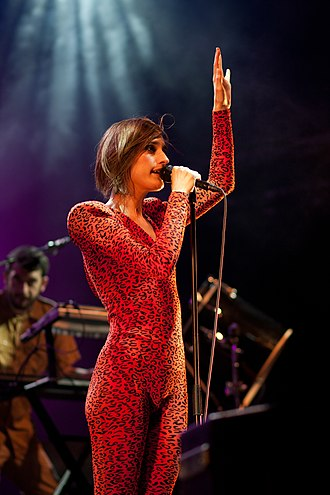 Yelle - Yelle performing live in 2011