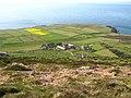 Ynys Enlli, Abbey, Chapel, farms and fields - geograph.org.uk - 486974.jpg