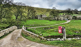 Langstrothdale Valley in North Yorkshire, England