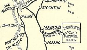 Yosemite Valley Railroad - Image: Yosemite Valley Railroad 1915 1916