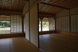 Tatami - Room with tatami flooring and shōji