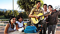 Young Teenagers Playing Guitar Band of Youth.jpg
