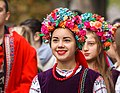 Young girl in the Ukrainian national clothes (35609140786).jpg