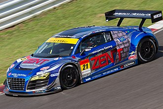 Group GT3 - An Audi R8 LMS ultra in the Super GT series