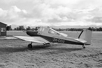 Aerial topdressing - The Auster Agricola, a specialist aerial topdressing plane