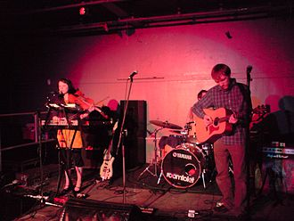Zoey Van Goey - Zoey Van Goey performing in April 2008