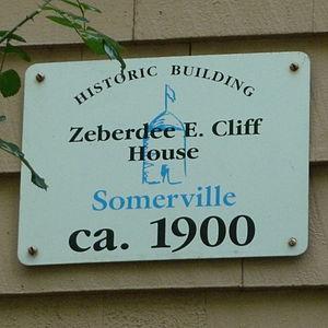 Z. E. Cliff House - Image: Z E Cliff House Sign