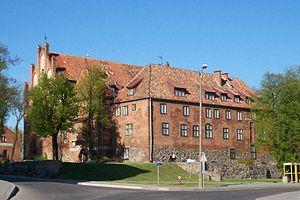 Kętrzyn - Image: Zamek Kętrzyn 002