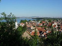 Panoramic view of Zemun