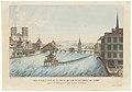 Zentralbibliothek Zürich - Vue perspective de la ville du lac et environs de Zuric prise à lAuberge de lEpée du Coté de lOrient - 000008012.jpg