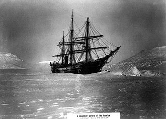 Franz Josef Land - America anchored at Tepliz Bay