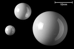 Zirconium dioxide - Bearing balls
