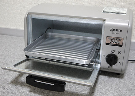 A Japanese toaster oven Zojirushi toaster oven ET-TB15 2.jpg