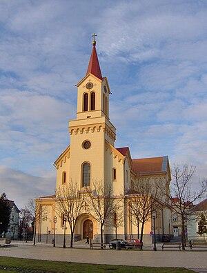 Roman Catholic Diocese of Zrenjanin - Cathedral od Saint John of Nepomuk