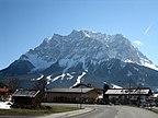 Austria - Tyrol, Ehrwald, Widok z hotelu - Hotel A