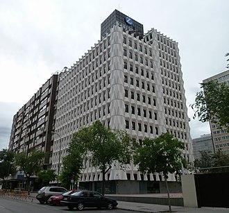 Zurich Insurance Group - Zurich offices in Madrid, Spain.