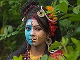"""""""Ardhanarishvara """" makeup.jpg"""