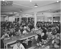 """Cafeteria system, North Cafeteria, Dining Room, US Navy Yard, Mare Island,CA."" - NARA - 296843.tif"