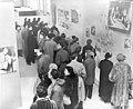 """Family of Man"" Exhibit, Opening Day - DPLA - 2882adf2084b87d5105cccf267f28b78.jpg"