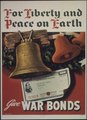 """""""For Liberty and Peace on Earth Give War Bonds"""" - NARA - 514290.tif"""